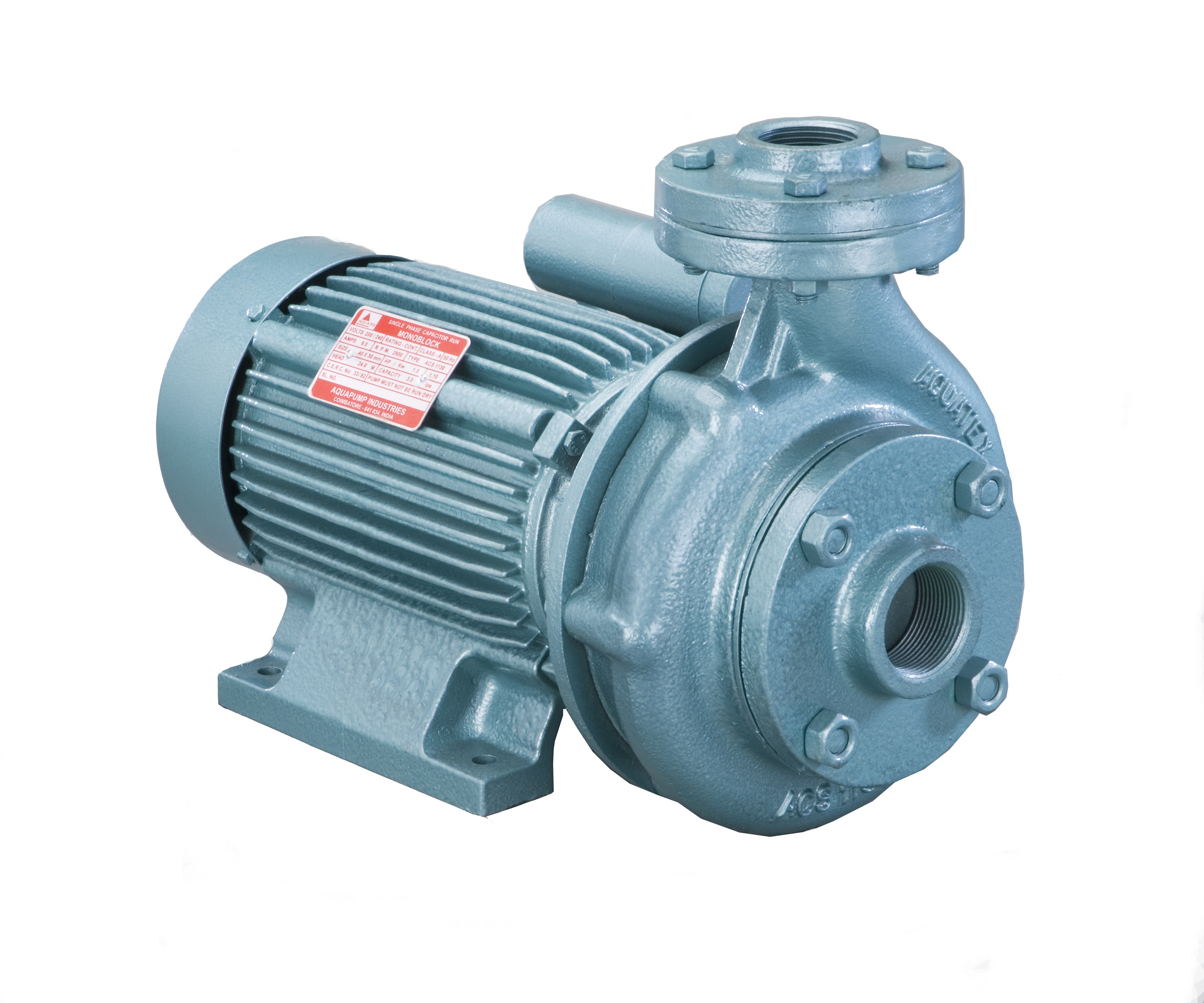 Single Phase Monoblock Pump In India Well Capacitor Wiring Manufacturers Coimbatore