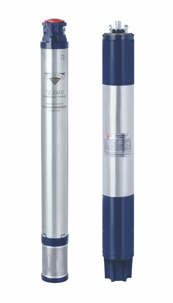 Borewell Submersible Pumps India, TEXMO Borewell Submersible Pump